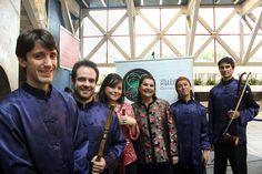 Formado em 2010, o Ensemble Gaoshan Liushui é o primeiro grupo instrumental de música chinesa atuante no Brasil, voltado à performance das músicas folclóricas com instrumentos étnicos da China.