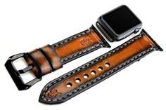 This listing is for the WATCH STRAP BAND only, Apple Watch is not included. All the Apple Watch bands are available in two sizes for 38mm and 42mm Apple Watch models, and included silver or black adapter ensures the bands works well with your smartwatch. The adapters are the metal pieces at the end of each watch band that is used to connect it the band to your Apple Watch…