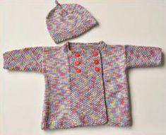 Free knitting pattern.  Looks great in self-striping yarn.