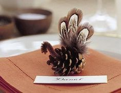 Super cute for Thanksgiving place markers