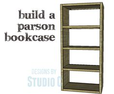 A Simple Bookcase to Build with an Open Design