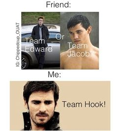 Team Hook! ...... All the way!
