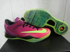 4172668da846 Buy Nike Kobe 8 System MC Mambacurial Football Shoes Red Plum Electric  Green-Pink Flash New Release from Reliable Nike Kobe 8 System MC Mambacurial  Football ...