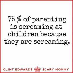 Screaming