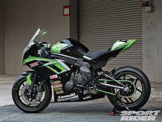 Kawasaki Ninja 650 Racebike Build | Green Streak
