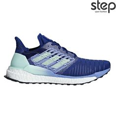 Jogging shoes & running shoes for women - Adidas Women& Running Shoes Solar Boost, Size in blue adidasadidas - Adidas Boost, Zapatillas Nike Air Force, Zapatillas Adidas Superstar, Nike Free, Adidas Shoes, Shoes Sneakers, Women's Shoes, Dress Shoes, Running Adidas