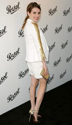 Emma Roberts outfit - Persol Magnificent Obsessions-30 Stories of Craftsmanship on Film (5) | Trend 911