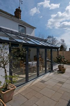 https://flic.kr/p/czQ7iA Lean-to Extension Because all Apropos lean to conservatories are individually designed to meet your requirements, we can accommodate any unusual features within your home. For example, a lean to conservatory is ideal for home