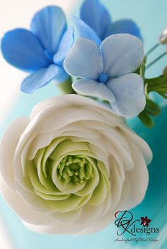 DK Designs: White, Ivory and Blue - Part II
