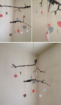DIY Nursery Mobiles : DIY Baby Shower Mobile