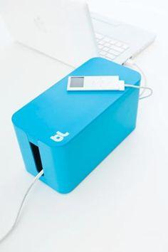 CABLeBOX MINI Kabelbox S - BLAU