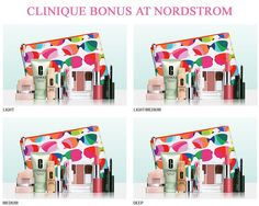 Clinique bonus at Nordstrom. Yours with $27 order. http://cliniquebonus.org/clinique-bonus-time/