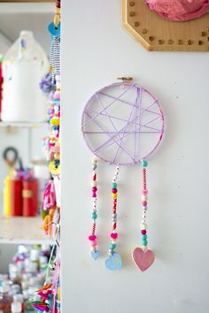 Dream Catchers for Valentine's Day - Meri Cherry