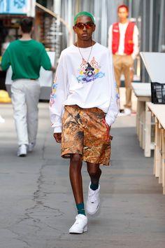 Heron Preston Spring 2019 Menswear Paris Collection - Vogue