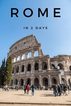 A comprehensive itinerary of the best things to do in Rome in 2 days, covering the main tourist attractions, brilliant viewpoints and hidden gems! Italy Travel Tips, Rome Travel, Travel Destinations, Travel Abroad, Travel Europe, 2 Days In Rome, Rome Itinerary, Things To Do In Italy, Travel Through Europe