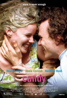 """Heath Ledger&Abbie Cornish from the movie """"Candy"""" 2006 Hd Movies, Movies And Tv Shows, Movie Tv, Watch Movies, Movies Online, Candy Heath Ledger, Movie Candy, Abbie Cornish, Movies Worth Watching"""