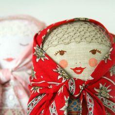 BUNIKAART Happy Matryoshka Art Folk doll by bunikaart on Etsy, $29.00
