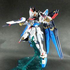 Bandai MG 1/100 Strike Freedom Gundam Full Burst built model kit SEED Gunpla #Bandai