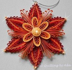 Image result for quilling autumn