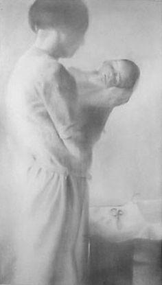 "Gale Antokal ""Eva"" 2002 chalk pastel and graphite on paper"
