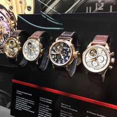 watch&whisky : Zenith watches booth at baselworld2015