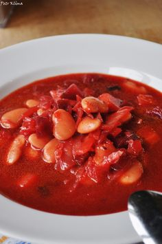 Borsc s fazoli