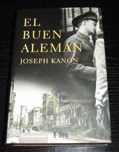 NOvela  El Buen Aleman por joseph kanon  la historia de un periodista americano , que le proponen q ..  http://barcelona-city.evisos.es/novela-el-buen-aleman-por-joseph-kanon-id-604280