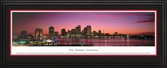 New Orleans, Louisiana City Skyline Panoramic Pictures & Posters
