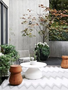awesome, simple patio