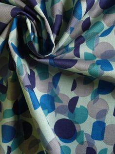 Marc Jacobs cotton dots at FabricMart. I love a good broken geometric.