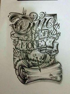 tattoo designs tattoo models in our tattoo line Gangster Tattoos, Chicano Art Tattoos, Chicano Drawings, Chicano Lettering, Tattoo Lettering Fonts, Graffiti Lettering, Body Art Tattoos, Sleeve Tattoos, Chicano Tattoos Gangsters