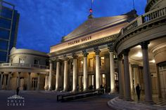 The Teatro Solís, Montevideo, Uruguay. The most beautiful theater in Uruguay.
