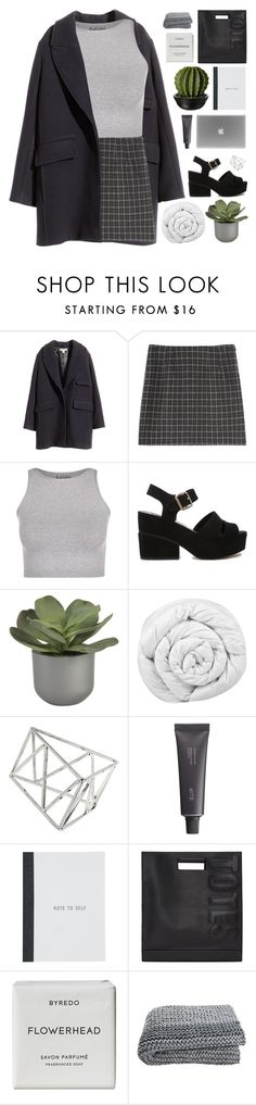 """GRANITE"" by adal1ne ❤ liked on Polyvore featuring moda, H&M, Free People, ASOS, Crate and Barrel, Brinkhaus, Topshop, Bite, 3.1 Phillip Lim y Byredo"
