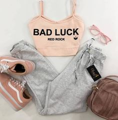My fav! Really Cute Outfits, Cute Lazy Outfits, Sporty Outfits, Simple Outfits, Pretty Outfits, Stylish Outfits, Girls Fashion Clothes, Teen Fashion Outfits, Outfits For Teens