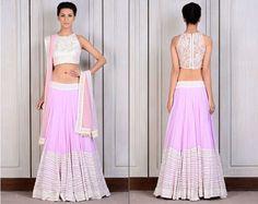 Extremely Beautiful Manish Malhotra Lehengas for the Bridesmaids - Light Notes | #ManishMalhotra #Lehenga #BridalDesigns