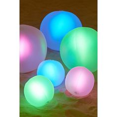 Glow Ball Pool Float ($8) ❤ liked on Polyvore featuring home, home decor and urban outfitters
