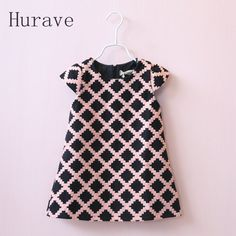 Hurave 2017 Autumn Casual Girls Clothes Girls Baby Plaid Dress Children Geometric Dresses Toddler Vestidos-in Dresses from Mother & Kids on Aliexpress.com | Alibaba Group