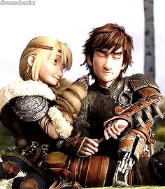 Okay HTTYD co-fans...the pivotal scene in which Hiccup and Astrid's relationship is exponentially expanded upon in the second movie. Any news if Dragons: Race to the Edge has already been released? :)