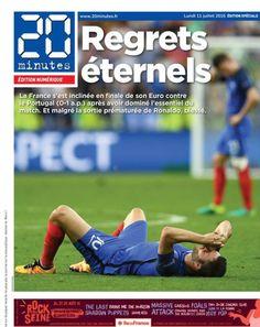 Euro 2016: France-Portugal, Didier Deschamps sera bien là en 2018... La journée en live Ronaldo, Euro 2016 France, Football, France Portugal, Sports, Journaling, Didier Deschamps, Soccer Players, Soccer