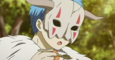 Akatsuki no yona- when Shin-ah first tastes yoon's cooking.