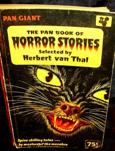 Pan Giant book of Horror Stories by Joey Myers, via Flickr