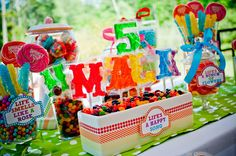 Muppet Party- Event Planning, Paper Design & Styling: Deliciously Darling Events
