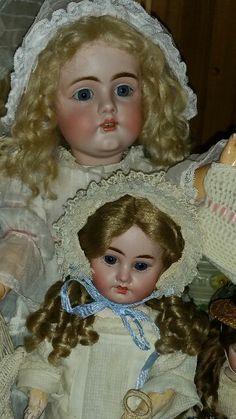Early Kestner161 Doll, Antique French Fleischmann & Bloedel doll