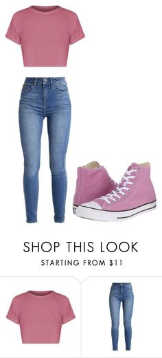 """Untitled #325"" by thenerdyfairy on Polyvore featuring Converse #FashionStyle"