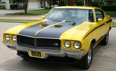 1970 Muscle Cars | 1970 Buick 'GSX' Stage 1