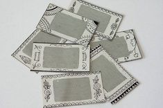 How to Make Tickets for a Lottery: Always I played a souvenir between guests, but they delayed pieces of paper numbers, and so it will turn out much more interestingly. Decorative Boxes, Scrapbook, Paper, How To Make, Crafts, Scrapbooks, Crafting, Diy Crafts, Craft