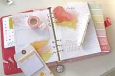 Blog post on the new Daisy Day Planner: Setting up your planner | Cocoa Daisy #planner #organizer #filofax