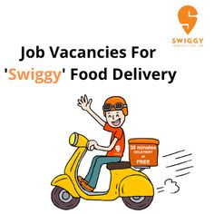 Hiring candidates for part-time & full-time ''Swiggy'' online food delivery at Delhi, Ghaziabad, Noida, etc. The post Job vacancies for 'Swiggy' food delivery appeared first on Jobs and Auditions. Swiggy Food Delivery, Part Time, Working Area, Marketing