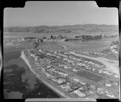 Aerial photograph taken by Whites Aviation. Tauranga New Zealand, Historical Photos, City Photo, Gallery, Historical Pictures, Roof Rack, History Photos