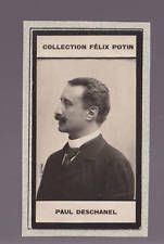 PRESIDENT PAUL DESCHANEL France 1908 FELIX POTIN CARD